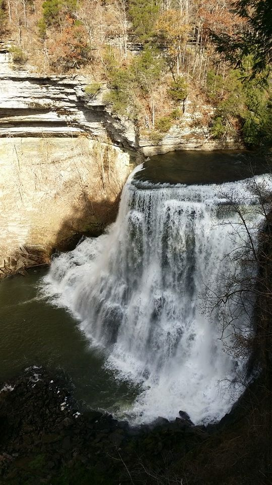 """Final and Biggest Burgess Falls"""
